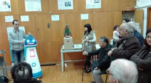 随着人口老龄化时代的来临 养老机器人顺势而生