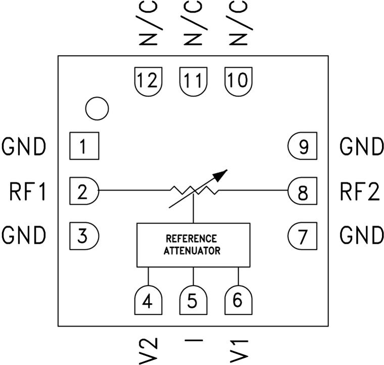 HMC346ALC3B GaAs MMIC电压可变衰减器,DC - 18 GHz