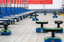 南京启用国内首个物联网机器人分拨中心