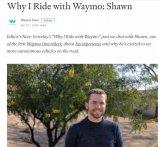 一位自动驾驶出租车Waymo One的乘坐经历