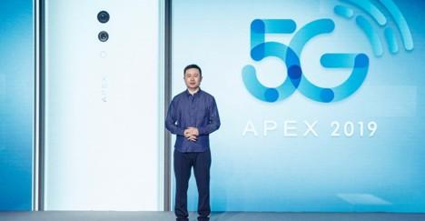 vivo首款5G手机APEX 2019创造出了超级一体的全新手机形态