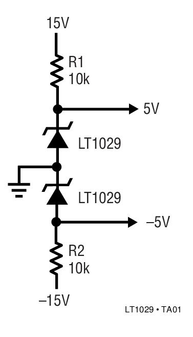 LT1029 5V 带隙基准