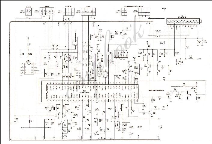 康佳电视的CPU控制与小信号处理电路原理图免费下载