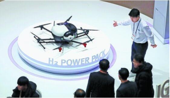 韩国研发氢电池无人机,续航时间超2小时