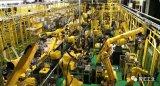 看发那科由机器人生产机器人的工厂