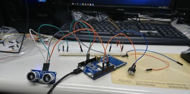 基于Ameba的倒车雷达系统