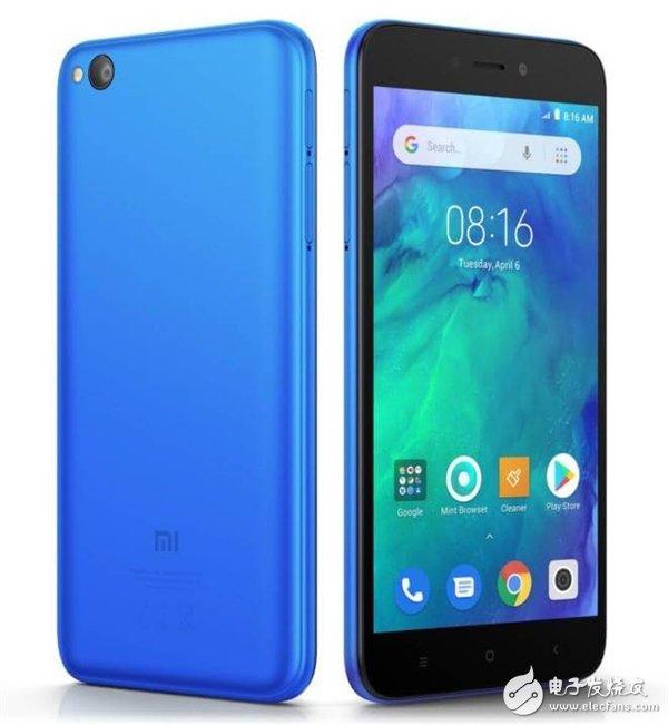 红米旗下首款AndroidGo设备RedmiGo曝光 搭载高通骁龙425处理器预计售价约合人民币600元
