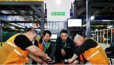 智能机器人迎战首个春节来件高峰 一个月内解决1300多起现场故障