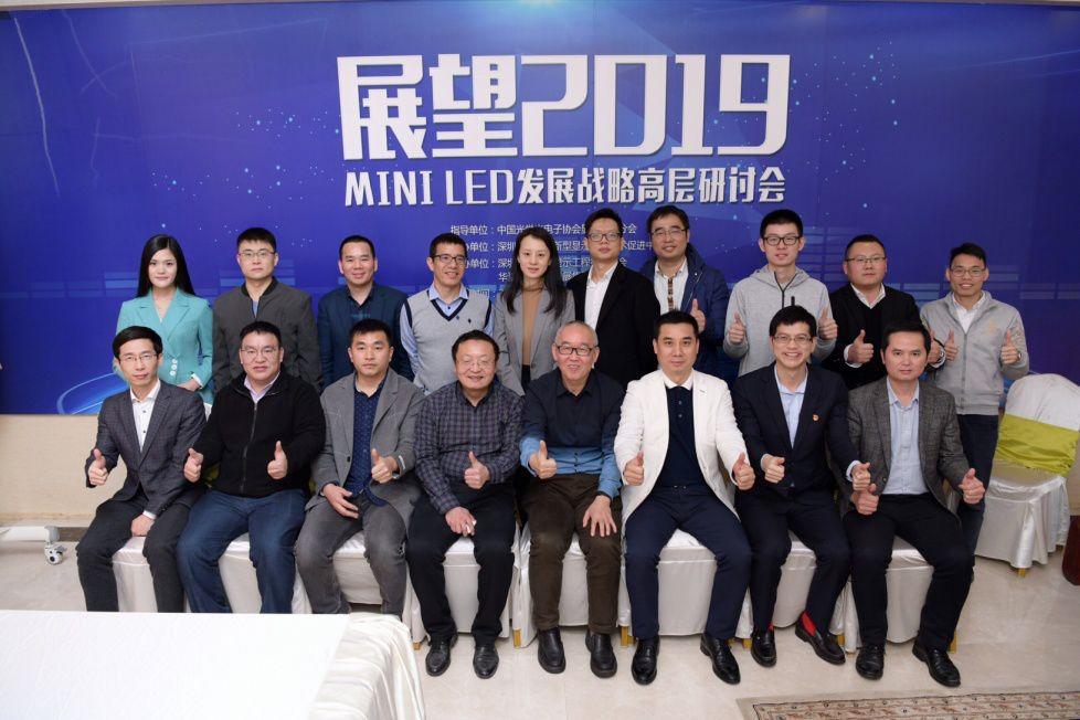 Mini LED发展战略高层研讨会在深圳顺利召开