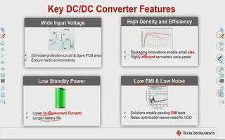 DCDC开关电源的宽输入降压芯片的特点介绍