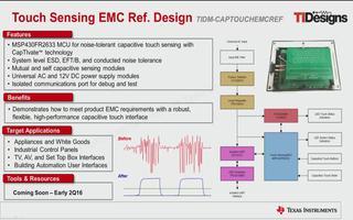 MSP430电容式触控感应的抗噪声设计