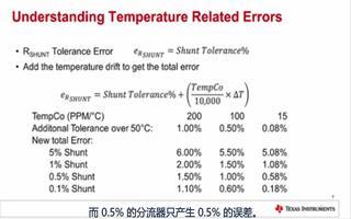 计算误差时温度将会造成怎样的影响
