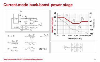开关模式电源转换器的功率级的特性介绍
