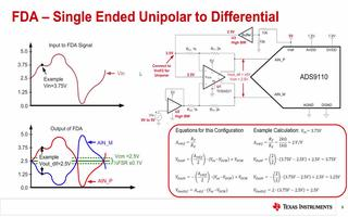 如何设计全差分放大器的驱动电路
