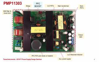 350W电源模块的测试数据与总结分析