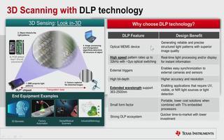 TI DLP技术在3D扫描中的应用介绍
