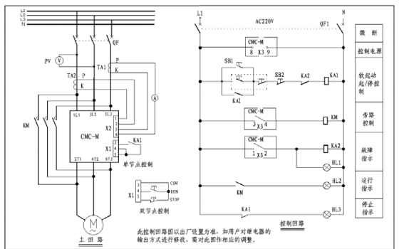 CMC-M软起动器产品说明书的资料免费下载