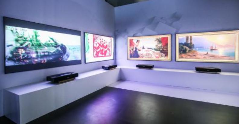 长虹人工智能技术和激光显示不断赋能电视 激光电视受众越来越广