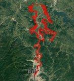 利用飞马F200航测系统,实现了在稀少像控点情况下库区1比1000地形图