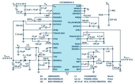 基于降壓控制器構建雙極性和雙輸出電源的方法