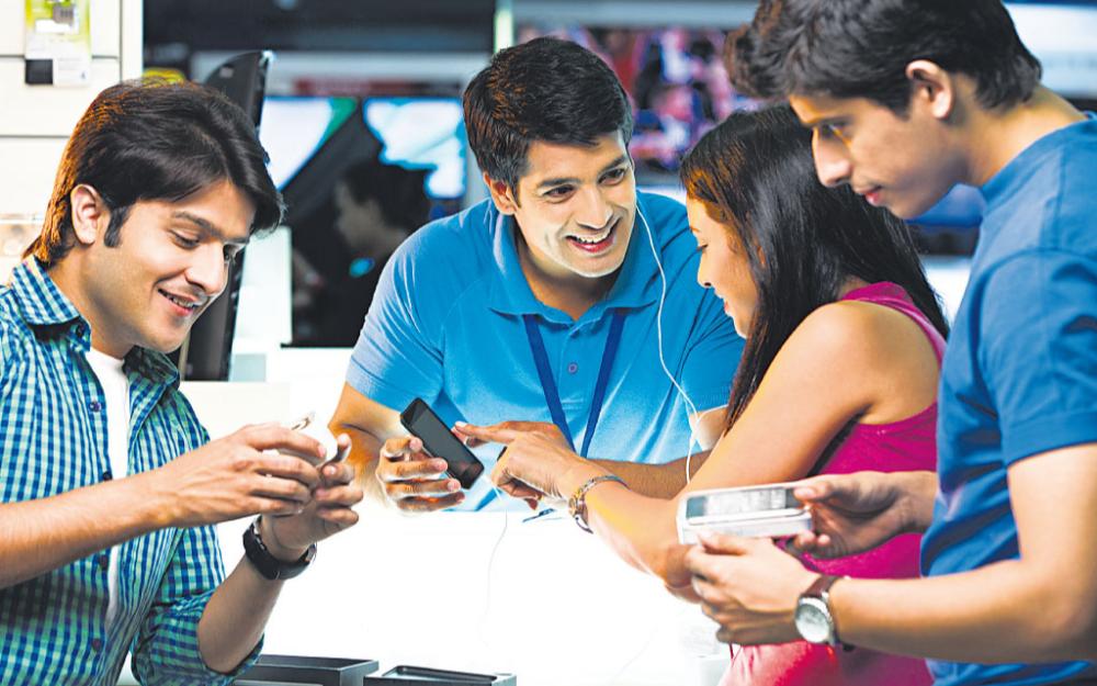 2018年印度智能手机市场出货量最高 达到1.423亿部