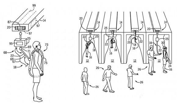 环球影业申请多人VR系统专利 计划与The Void就LBE展开竞争