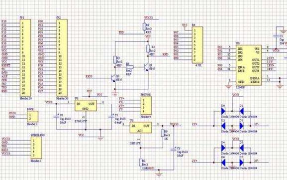 L298N驱动模块应用原理图免费下载