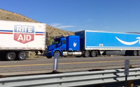 亚马逊自动驾驶卡车送货已经上路正式开启