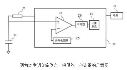 测量电源电压的装置及包含其的温度检测装置及温控器