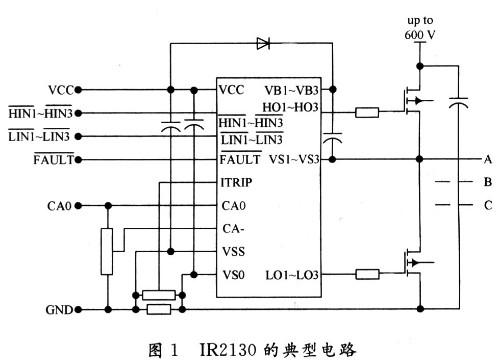 基于IR2130驱动芯片的无刷直流电动机功率驱动电路设计