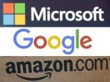 亚马逊、谷歌和微软寸土必争的云技术市场