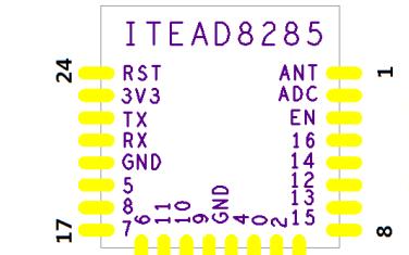 单路WIFI模块PSF-B01的产品数据手册免费下载