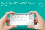Maxim发布PPG和ECG生物传感器模块