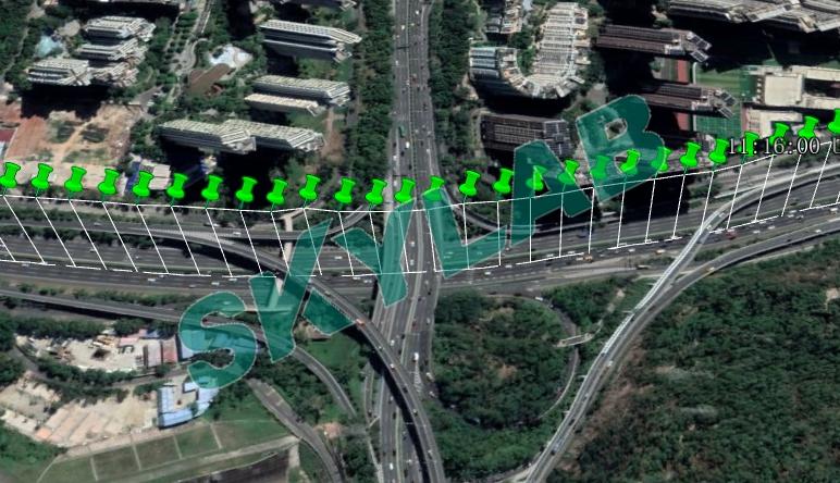 【实测】SKYLAB北斗三代定位模块道路车载实测定位效果报告
