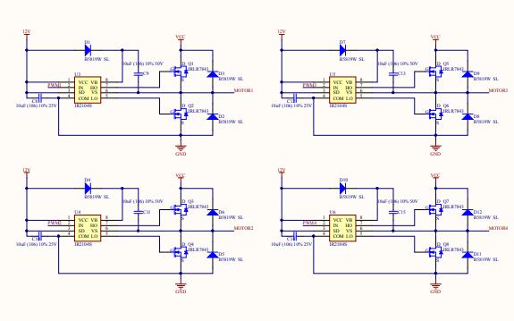平衡车的电路原理图免费下载
