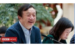 任正非对BBC记者表示:全力开拓采用华为设备的国...