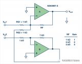 如何实现差分输入转单端输出放大器电路