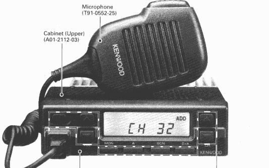 KENWOODTK-868_H_(N)高频调频无线电收发机的维修手册中文版免费下载
