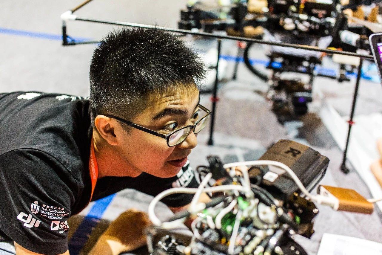 RoboMaster机甲大师赛上的香港科技大学ENTERPRIZE战队