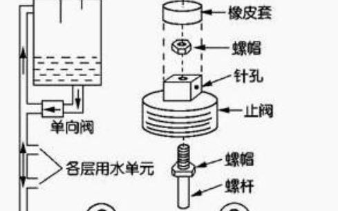 自动增压蓄水系统电路图