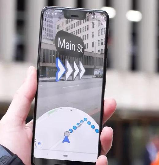 谷歌推出增强现实导航功能 稍后将广泛推出