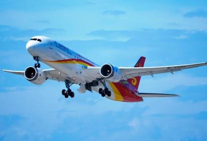 金鹏航空引进了首架787-9梦想飞机