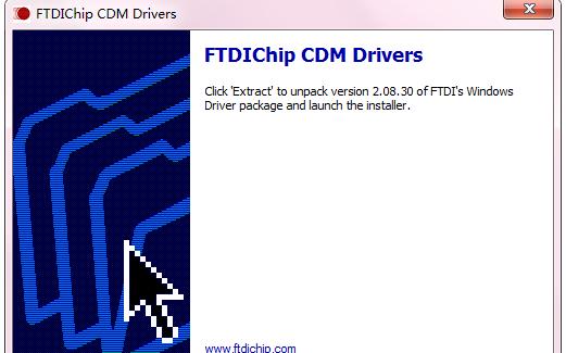 USB转串口线驱动程序FTDIChip CDM Drivers软件免费下载
