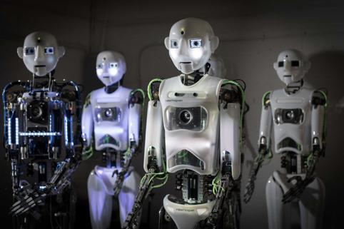 超现实机器人的诞生意味着人工智能发展日趋成熟