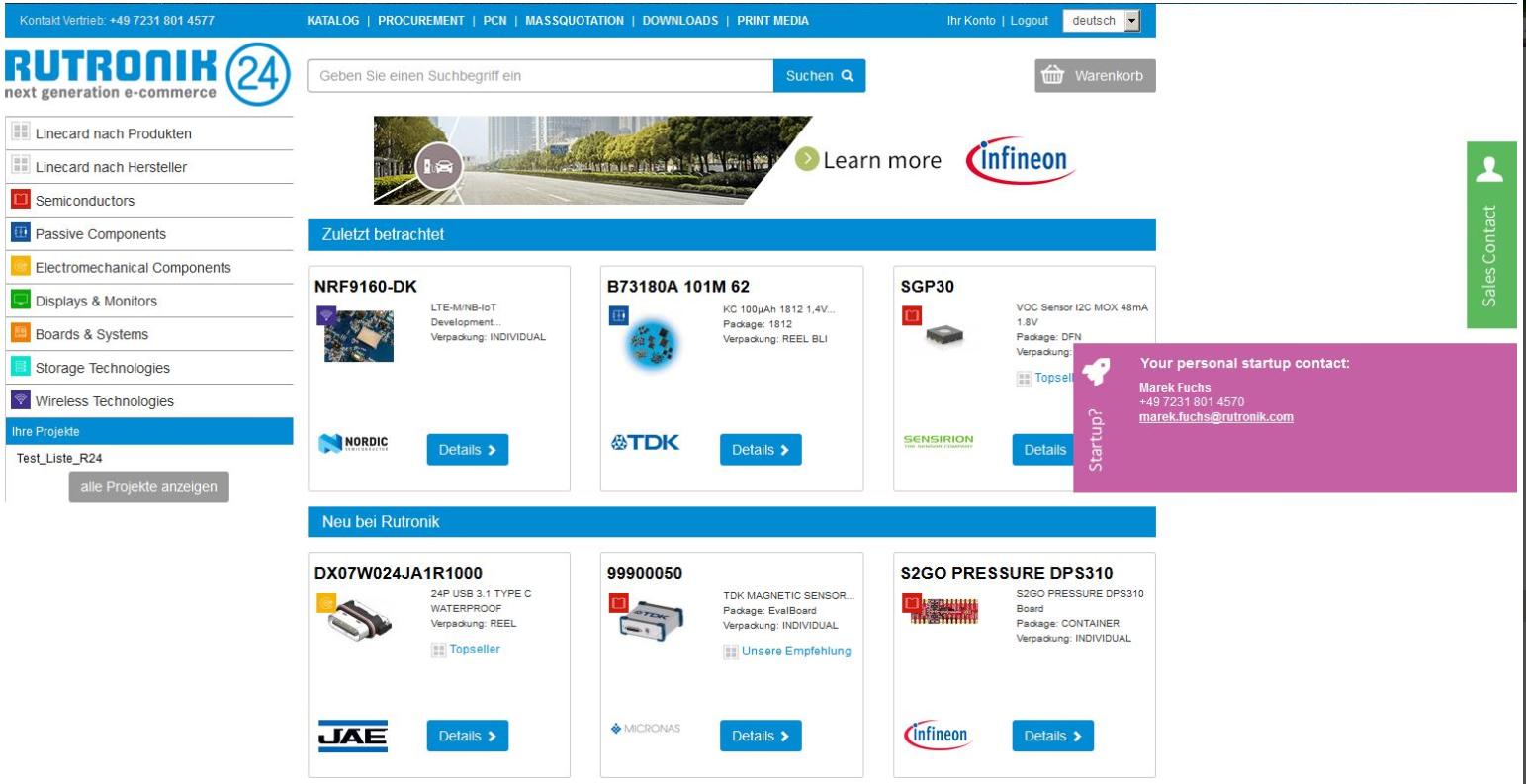 儒卓力Rutronik24专注支持初创企业 成立新团队