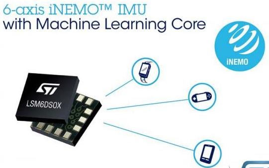 意法半导体推出具有机器学习功能的LSM6DSOX...