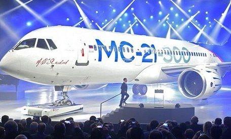俄罗斯MC-21型国产客机的生产计划因受美国制裁影响被迫延期一年