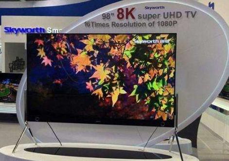 预计从2020年起 8K电视市场将出现全面竞争