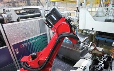 致力于自动化车间的机器人:徕斯机器人,节能又灵活