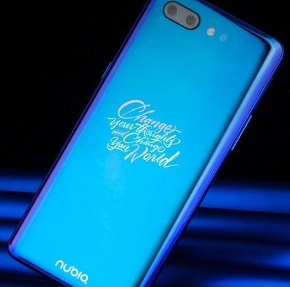 努比亚X全系列手机即将发售采用刘海设计屏占比接近100%